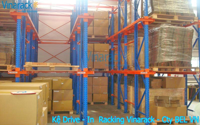 Kệ Drive In chứa pallet -1
