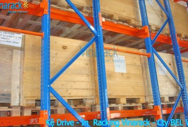 Kệ Drive In chứa pallet